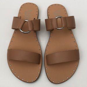 NWOB Franco Sarto KATNESS Leather Slide - Size 8